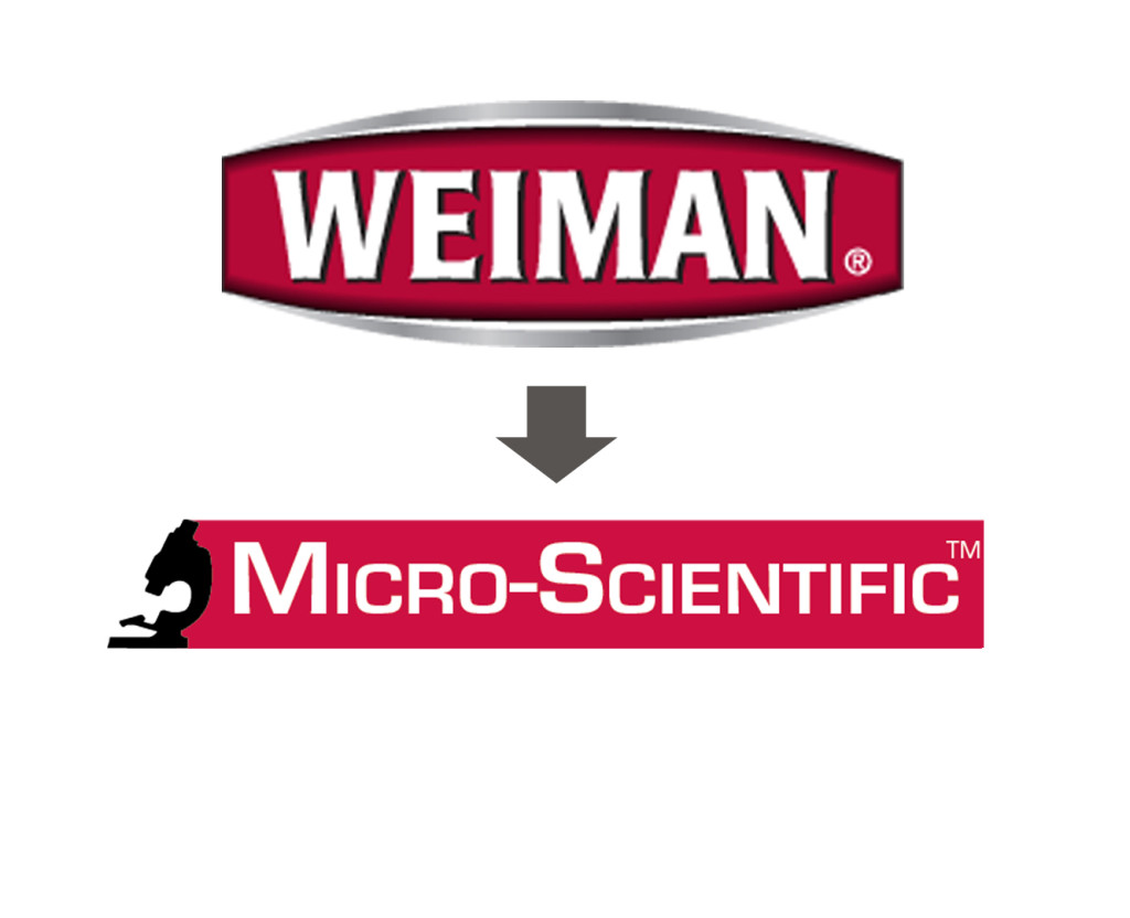 Weiman to Micro-Scientific rebrand